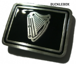 Irish Harp Belt Buckle+ display stand. Code TB8